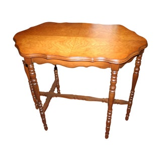 Antique Gingerbread Occasional Table