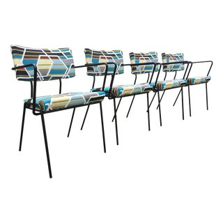 Mid-Century Modern Atomic Dining Chairs - Set of 4