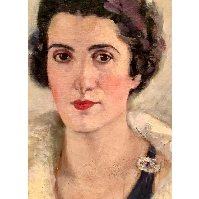 Early 20th Century Original Oil Painting Female Portrait -Framed & Signed By, H. Pink - Image 4 of 10