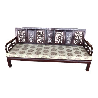 Mother of Pearl Inlay Rosewood Chinese Sofa