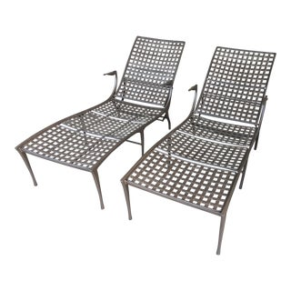 Brown Jordan Sol Y Luna Chaise Lounges - A Pair