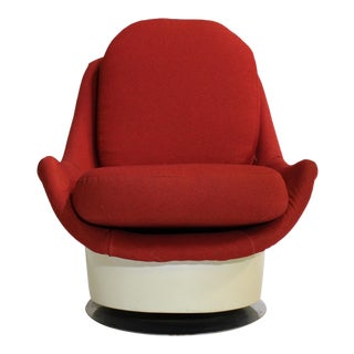Milo Baughman Swivel Lounge Chair