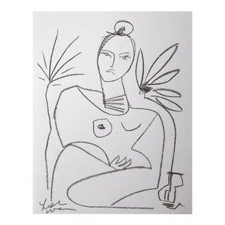 Primitive Lady Sketch