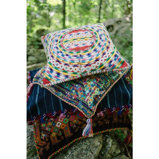 Upcycled Guatemalan Huipil Pillowcase - Image 5 of 5