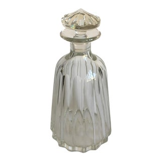 Hollywood Regency Crystal Decanter