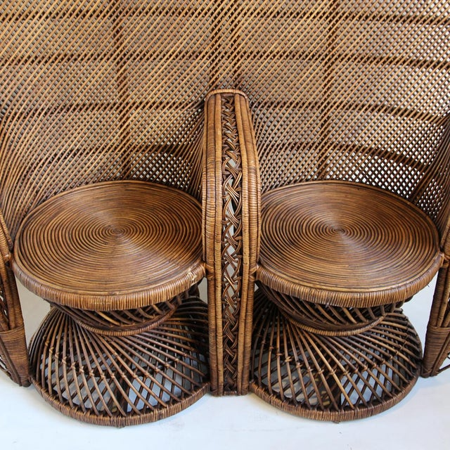 Double Plantation Peacock Chair - Image 2 of 5