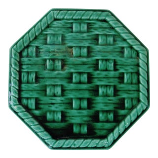 Green Wine Coaster Trivet