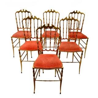 Bronze Chiavari Chairs - Set of 6
