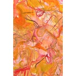 """Image of Trixie Pitts Large Abstract Oil Painting """"Bunny's Bonanza"""""""