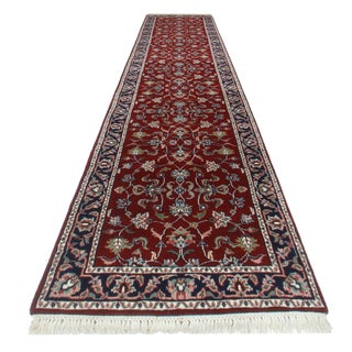 RugsinDallas Persian Style Hand Knotted Wool Runner - 2′6″ × 12