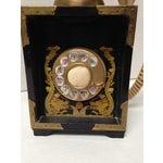 Image of Mid Century Art Deco Italian Telephone