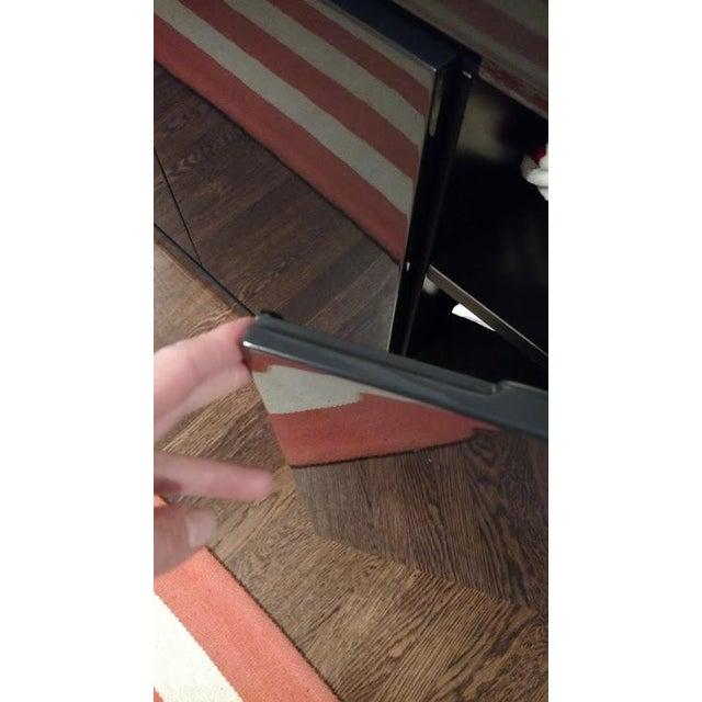 Medium Indigo Lacquered Cabinet Credenza - Image 8 of 8