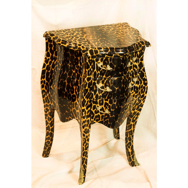 1920s Leopard Patterned Commode - Image 2 of 5
