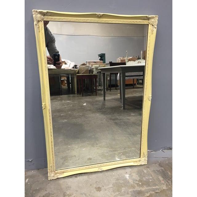 Shabby Chic Square Mirror - Yellow - Image 2 of 5