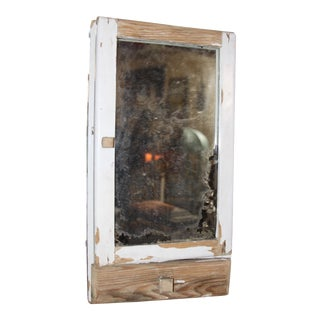 Vintage Medicine Cabinet With Mirror & Drawer