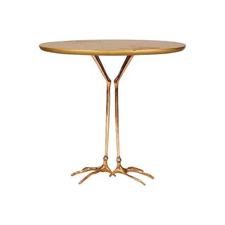 "Vintage Meret Oppenheim ""Traccia"" Side Table"