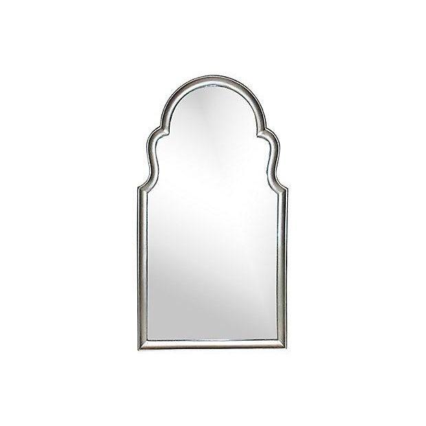 Image of Silvertone Keyhole Mirror