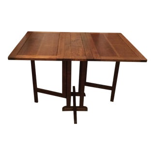 Mission Style Gate Leg Drop Leaf Table