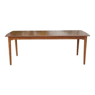 Mid Century Solid Teak Dining Table