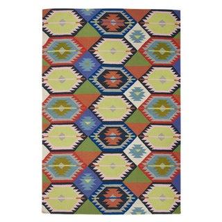 Bernadette Flat-Weave Rug - 5' x 8'