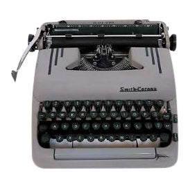 Art Deco 1950s Corona Typewriter