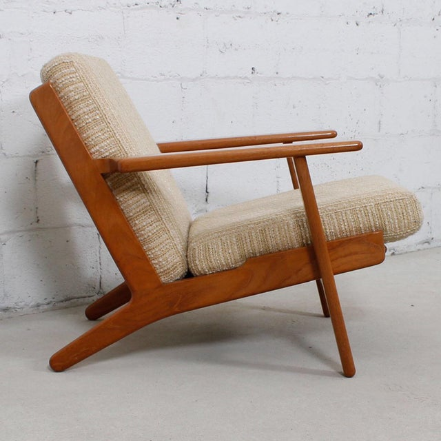 Hans Wegner For Getama Lounge Chair & Ottoman - Image 4 of 9