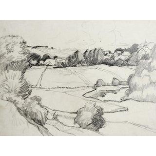 Landscape Pencil Study by George Baer