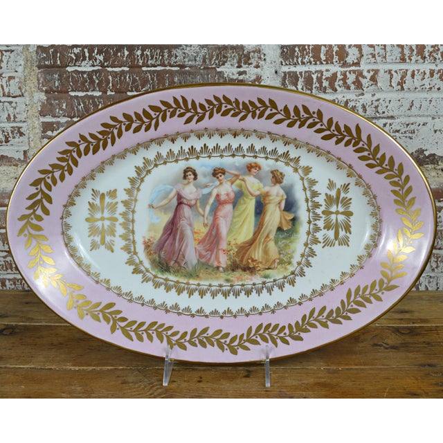 Porcelain Transfer Portrait Platter - Image 2 of 7