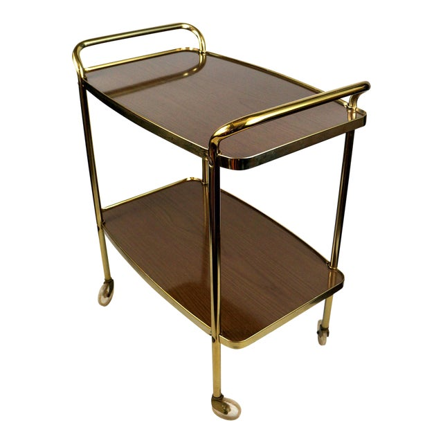 Image of Cosco Mid-Century Modern Bar Cart