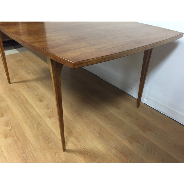 Broyhill Walnut Dining Table - Image 5 of 9
