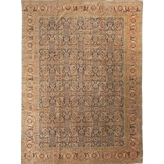 "Antique Persian Tabriz Rug, 1890 - 9'6"" x 12'6"""