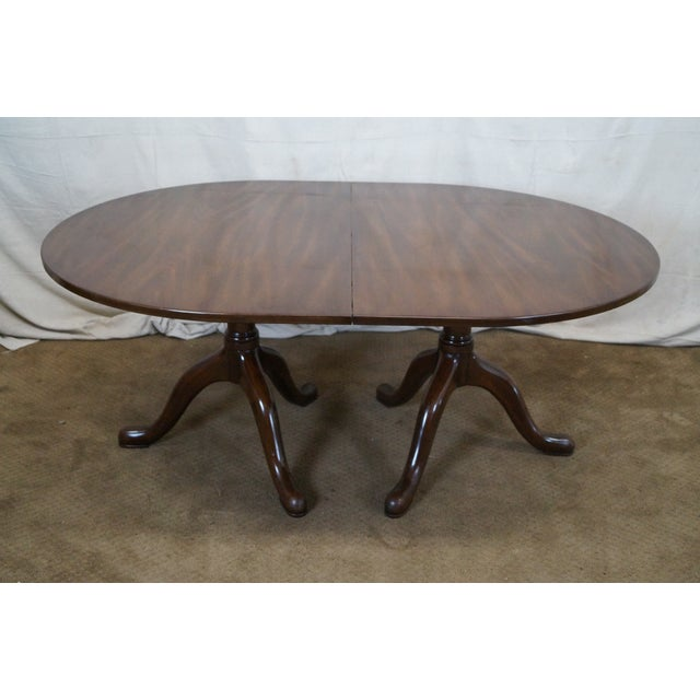 Kittinger Colonial Williamsburg Extension Table - Image 3 of 10