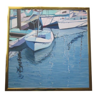 """""""Harbor Reflections"""" by R. J. Carnahan"""