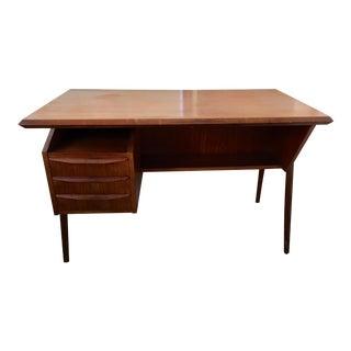Mid-Century Danish G. Tibergaard Desk