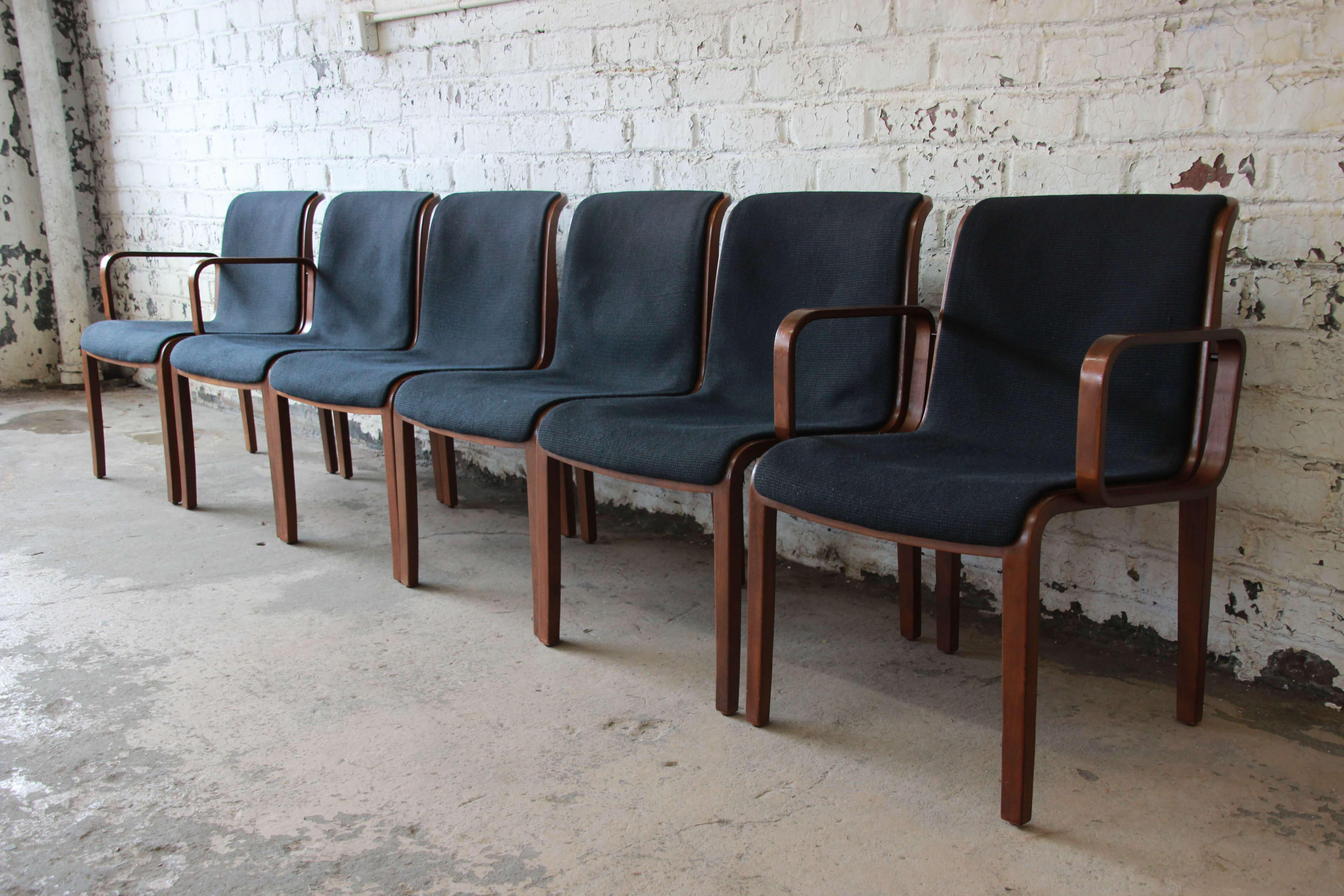 Bill Stephens For Knoll Dining Chairs   Set Of 6   Image 4 Of 11