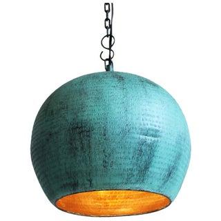 Green Copper Bola Lantern