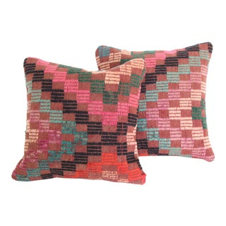 Turkish Kilim Pillows - A Pair