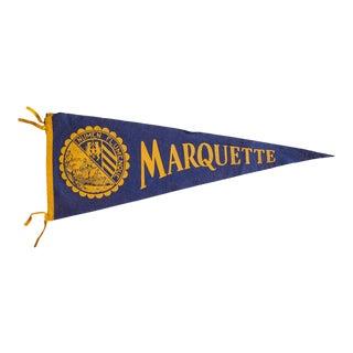 Marquette Felt Flag