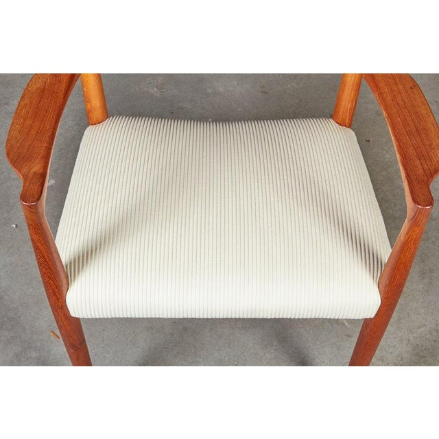 Danish Modern Arm Chairs by Knud Faerch, Pair - Image 5 of 8