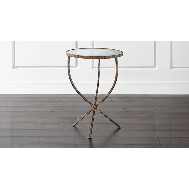 Image of Crate & Barrel Small Jules Tables - A Pair