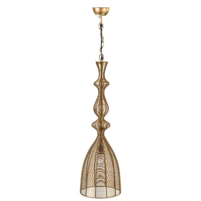 Image of Sarreid LTD 'Hobbs' Gold Pendant Light