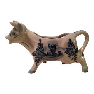 Delft Blue Dutch Cow Creamer