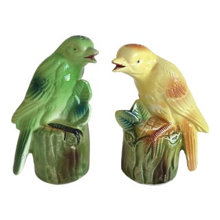 """Chirping"" Birds Salt & Pepper Shakers"