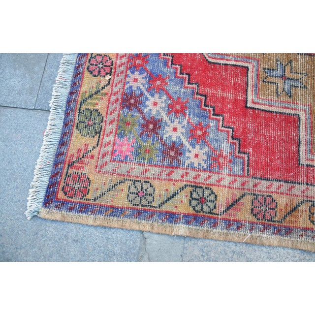 "Turkish Anatolian Oushak Carpet - 41"" x 53"" - Image 6 of 6"