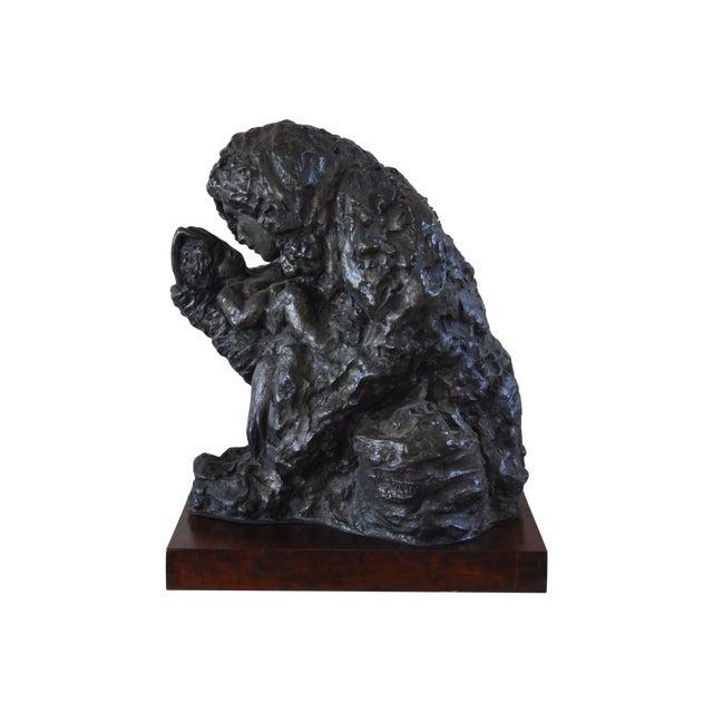 "Victor Salmones ""Madonna Con Nino"" Bronze Statue - Image 1 of 9"