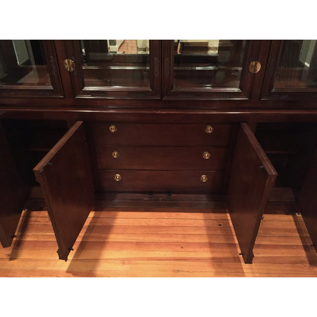 Bernhardt Credenza and China Cabinet - Image 5 of 7