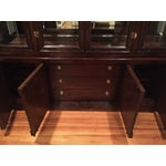 Image of Bernhardt Credenza and China Cabinet