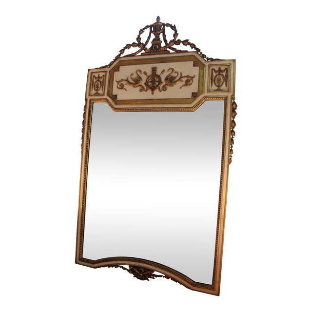 Neoclassical Gilt-Wood Mirror - Image 1 of 5
