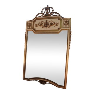 Neoclassical Gilt-Wood Mirror