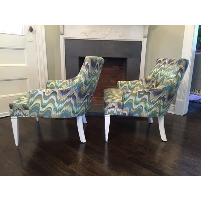 Jonathan Adler Haines Chairs - A Pair - Image 11 of 11